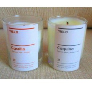 Yield Votive Candles Lot of 2